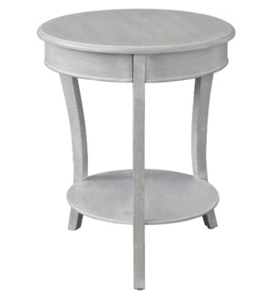 Emma Chalk Grey Accent Table