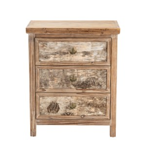 Maple Ridge 3 Drawer Chest