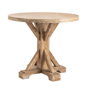Sonoma Rustic Wood Large Accent Table