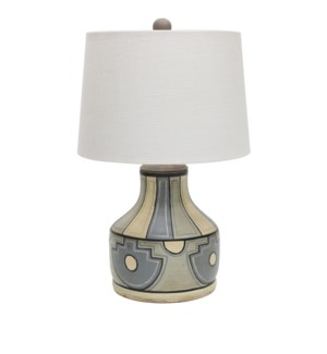 Fresno Hand painted Table Lamp
