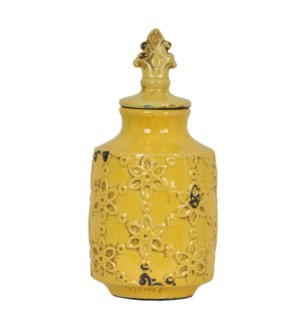 Large Spring Lidded Urn