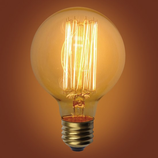 Round Edison Bulb