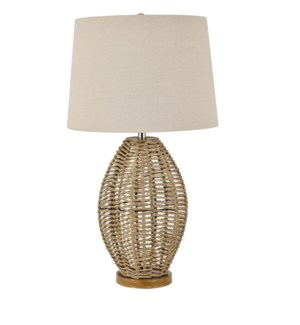 Paxton Woven Table Lamp