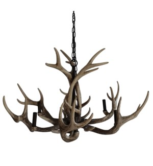 Huxley Antler Chandelier with 6 Lights