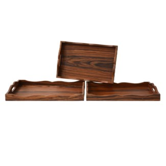 """WOOD TRAYS"""