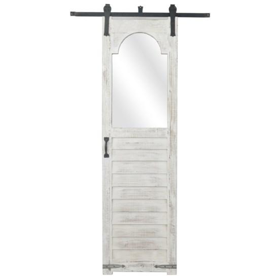 White Door Mirror
