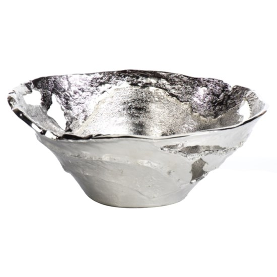 Willow Silver Medium Pierced Bowl