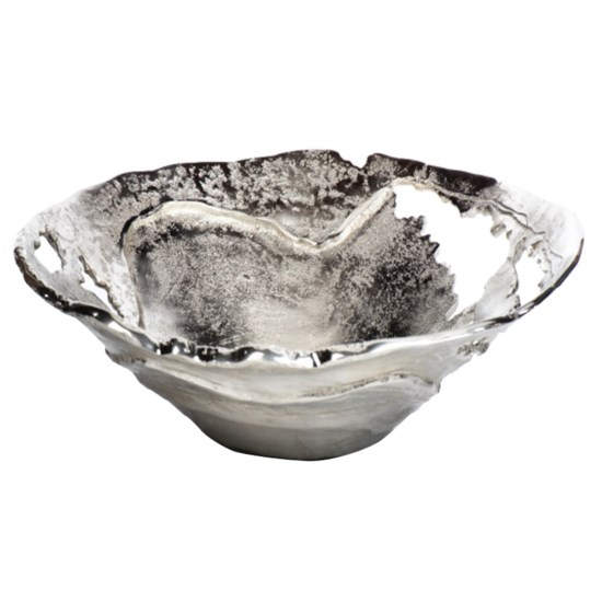 Willow Silver Larger Pierced Bowl