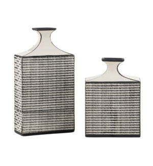 Modern Farm House Vases,Set of 2