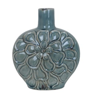 Large Soft Blue Flower Vase