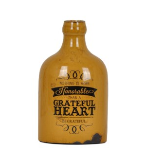 Greatful Heart Vase