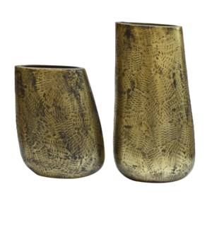 Dunlap Vases,Set of 2