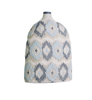 Ikat Large Handpainted Bottle