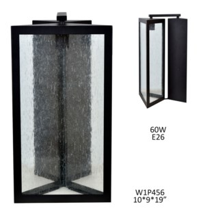 """119""""H INDOOR/OUTDOOR WALL SCONCE  1PCS UPS PACK 1.74'"""