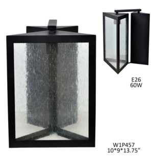 """13.75""""H INDOOR/OUTDOOR WALL SCONCE  1PCS UPS PACK 1.74'"""
