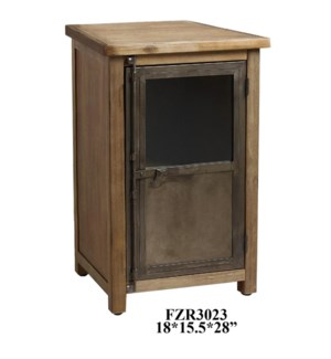 "18X15.5X28"" CABINET WITH 1 SHELF, 1PC PK/ 6.74'"
