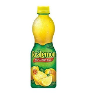 REALEMON LEMON JUICE 8OZ