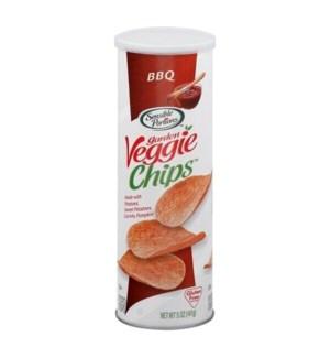 GRDN VEGGIE CHIPS BBQ CAN 5 OZ