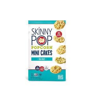 SKINNY POP MINI CAKE POPCORN SEA SALT 5 oz