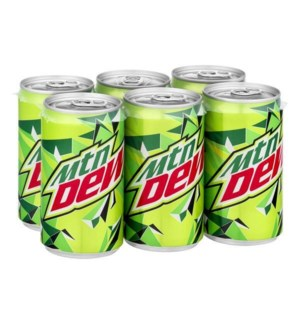 MOUNTAIN DEW 7.5 OZ 6 CT CANS