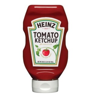 HEINZ SQUEEZE TOMATO KETCHUP 20 OZ