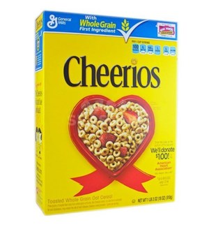 GENERAL MILLS CHEERIOS 18 OZ