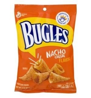 BUGLES NACHO CHEESE 3OZ