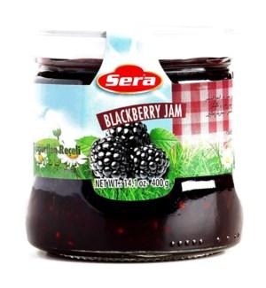 SERA BLACKBERRY FRUIT JAM 370 G
