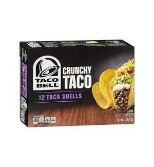 CRUNCHY TACO TACO BELL 4.5 OZ