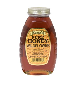 GUNTER'S WILD FLOWER HONEY 16OZ