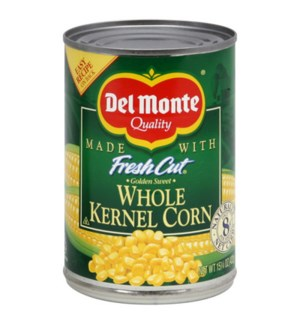 DELMONTE WHOLE KERNEL CORN 15.25 OZ