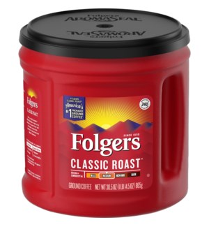 FOLGERS CLASSIC ROAST 33.9OZ