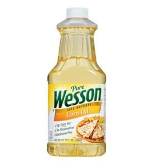 WESSON CORN OIL 48OZ.