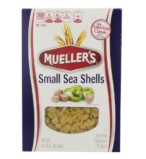 MUELLER'S SMALL SEA SHELLS 16OZ