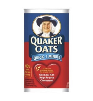 QUAKER OATS QUICK 42 OZ