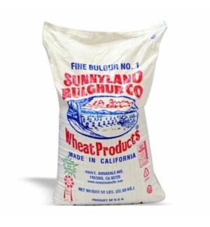 BULGUR FINE #1 SUNNYLAND 50LB 50/CASE