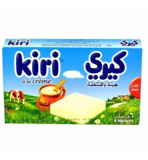 KIRI CHEESE WEDGES 6PC