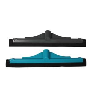 ROZENBAL SMALL PLASTIC FLOORWIPER  W/METAL STICK 12/CASE