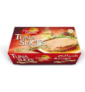 CALIFORNIA GARDEN CHILLI SLICED TUNA 120G