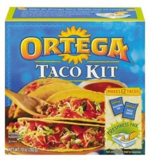 ORTEGA  DINNER KIT 12CT 10 OZ