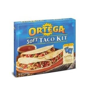 ORTEGA SOFT KIT TACO DINNER 15 OZ