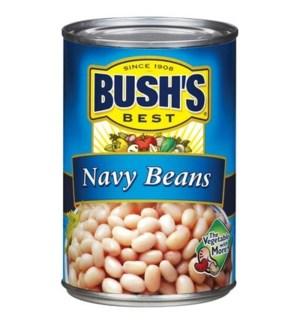 BUSH'S BEST NAVY BEANS 16 OZ