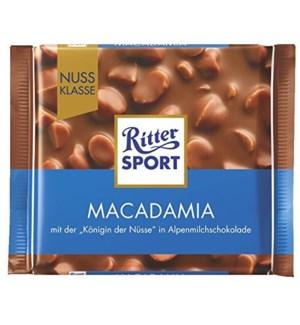 RITTER SPORT MACADAMIA CHOCOLATE 100 G