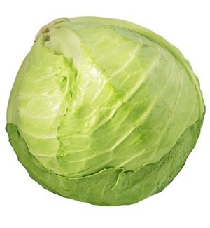 GREEN CABBAGE (1 HEAD)