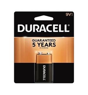 DURACELL BATTERIES 9V1 1PK