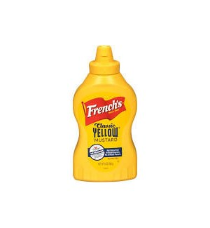 FRENCH'S CLASSIC YELLOW MUSTARD SQUEEZE 14 oz