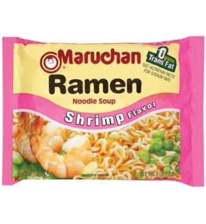 MARUCHAN RAMEN NOODLE  SHRIMP 3OZ
