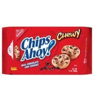NABISCO CHIPS AHOY CHEWY 13OZ  12/CASE