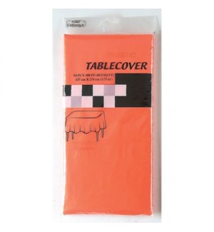 TABLE COVER FLOMO ORANGE SQUARED