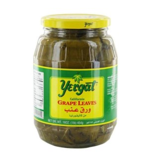 YERGAT CAL GRAPE LEAVE 1LB